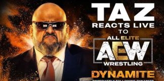 TAZ will recap tomorrow night's episode of Dynamite on YouTube