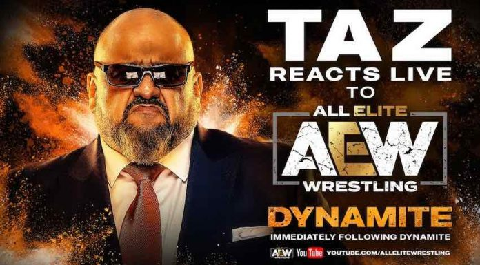 TAZ will recap tomorrow night's episode of Dynamite on YouTube