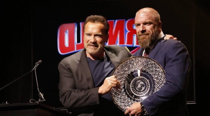 Triple H honored with Arnold Classic Lifetime Achievement Award