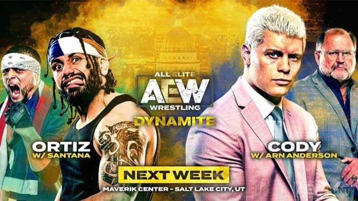 Upcoming AEW Dynamite matches