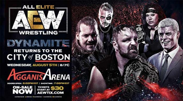 AEW Dynamite on April 15 rescheduled