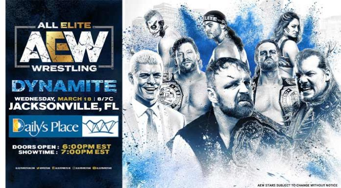 AEW Dynamite relocated