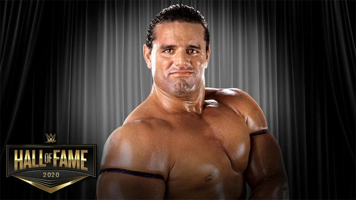 Davey Boy Smith going into the Hall of Fame