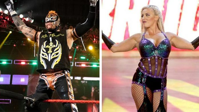 Rey Mysterio and Dana Brooke quarantined