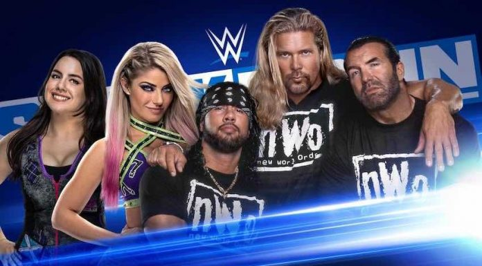 "WWE announces the nWo to appear on ""A Moment of Bliss"" Friday night on SmackDown"