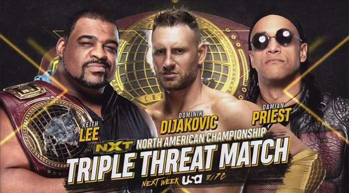 WWE NXT for April 1 and April 8