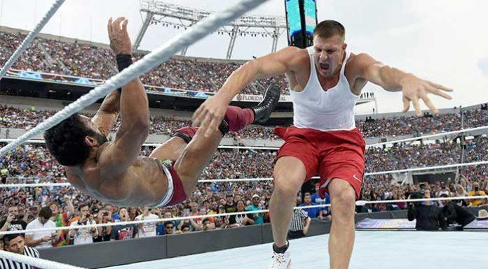 Rob Gronkowski close to WWE deal