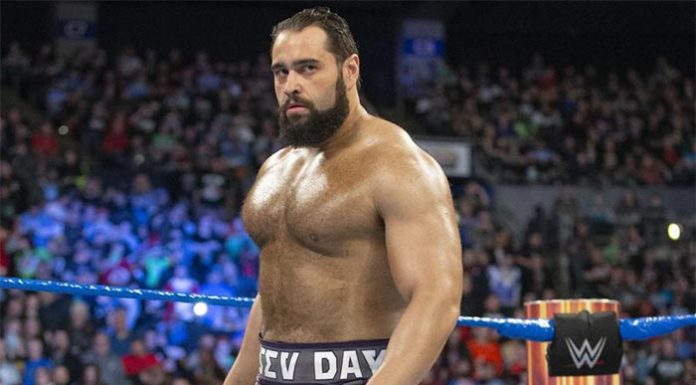 Rusev donates money to WWE employees