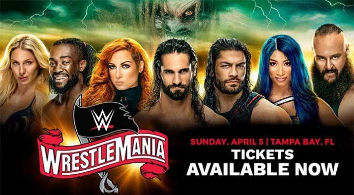 WrestleMania 36 status updated