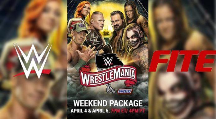 WrestleMania on FITE