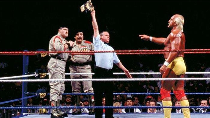 WWF WrestleMania VII Results