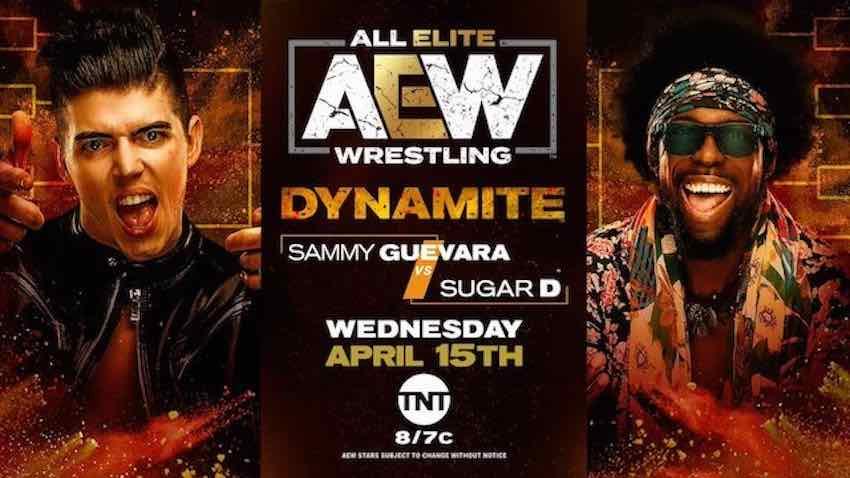 AEW announces Sammy Guevara vs. Sugar D for Dynamite on TNT