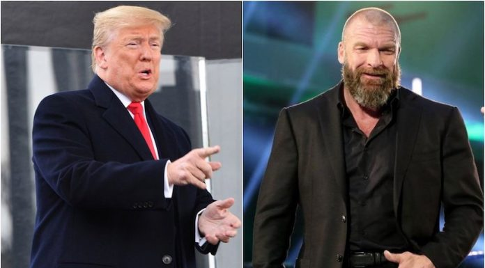 Donald Trump comments on Triple H's 25 Year Celebration in WWE
