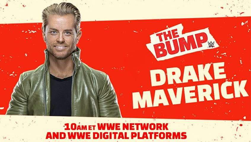 Drake Maverick to appear on Wednesday's WWE The Bump