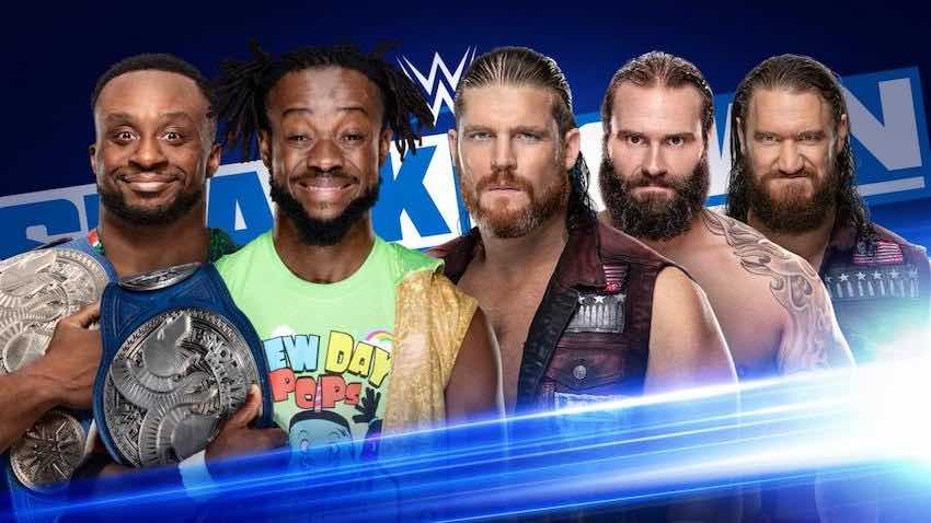 The New Day vs. The Forgotten Sons announced for SmackDown