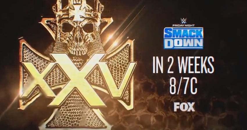Celebration of 25 years of Triple H in 2 weeks on SmackDown