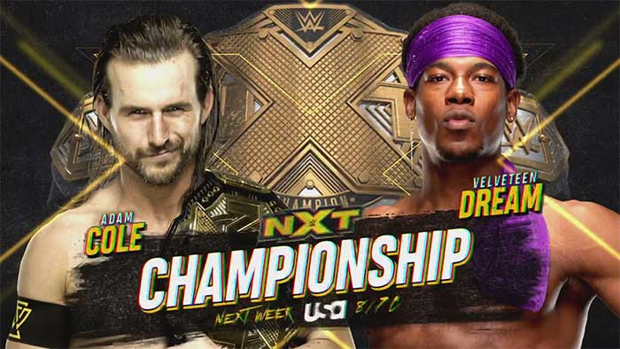 Matches for May 6 NXT