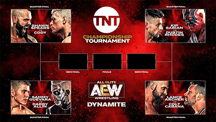 TNT Title Tournament brackets
