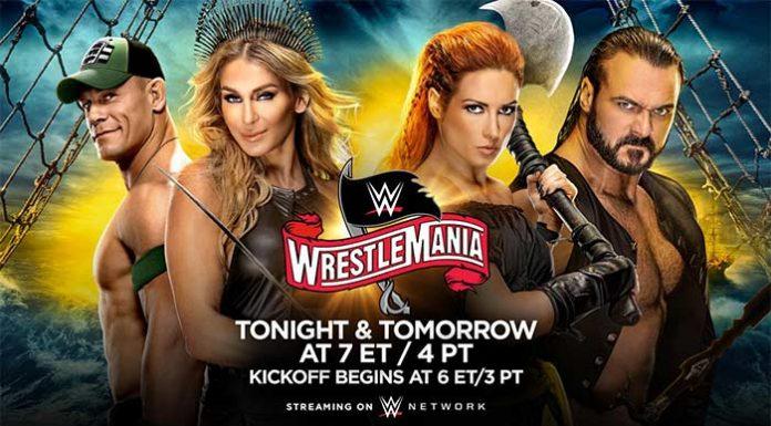 WrestleMania 36 Night One