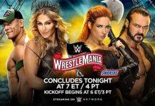 WrestleMania 36 Night Two