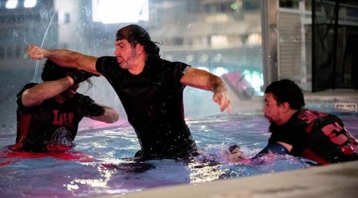 """Reby Hardy and Chris Jericho respond to criticism of Matt Hardy """"drowning"""" spot"""