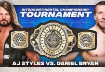 AJ Styles and Daniel Bryan in finals of the WWE IC Title Tournament