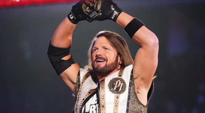 AJ Styles reportedly making his return to Raw this Monday Night
