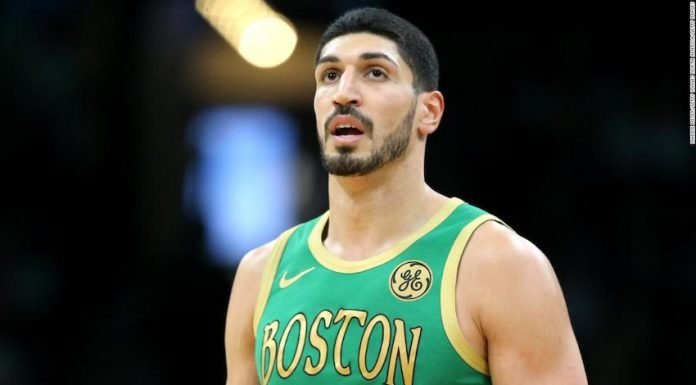 Boston Celtics Center Enes Kanter says he has been offered a WWE contract