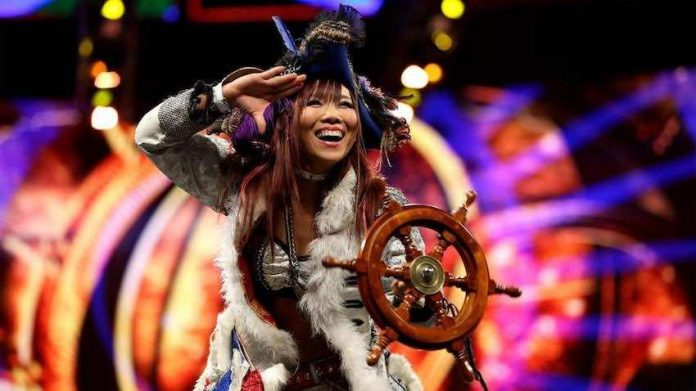 Kairi Sane reportedly suffers cut to her head during Tuesday's Raw tapings