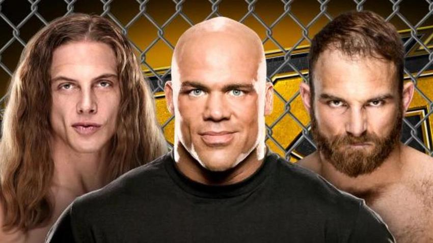 Kurt Angle comments on refereeing Cage Fight set for NXT