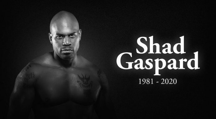 The wrestling industry reacts to the passing of Shad Gaspard