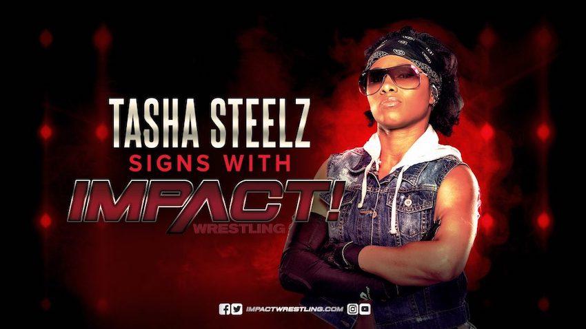 IMPACT Wrestling announces the signing of Tasha Steelz
