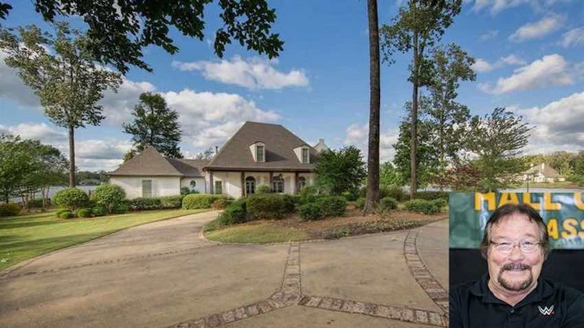Ted DiBiase selling his lakeside home