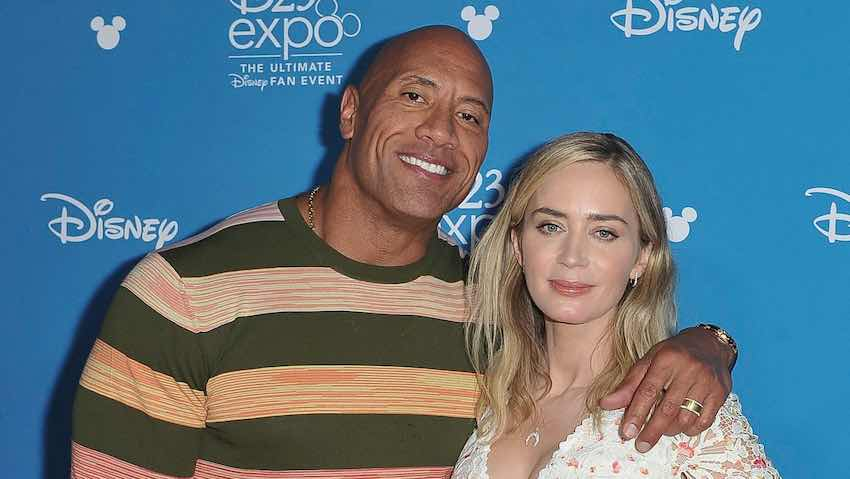 Dwayne Johnson and Emily Blunt to star in new movie