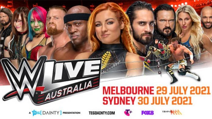 WWE Live in Australia rescheduled