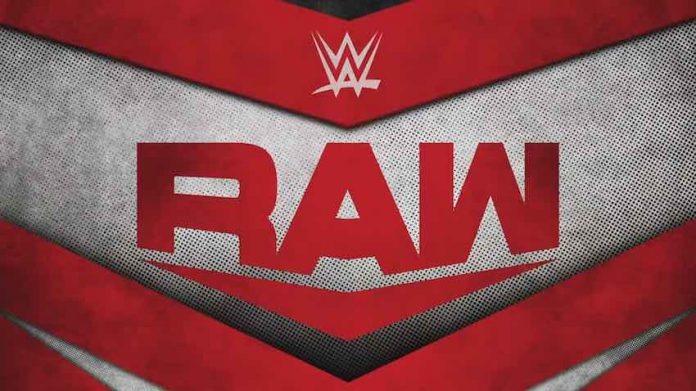 Cable and Satellite TV guides advertising a match and segment for Raw