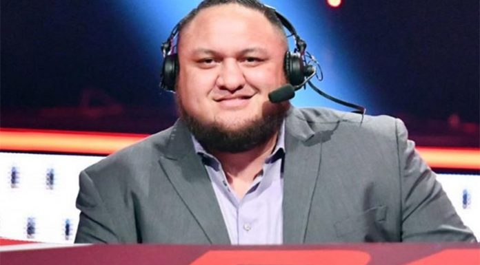Samoa Joe on commentary