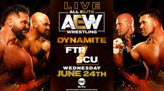 Change made to tonight's tag team match on Dynamite due to COVID-19