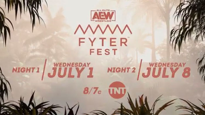 AEW Fyter Fest dates