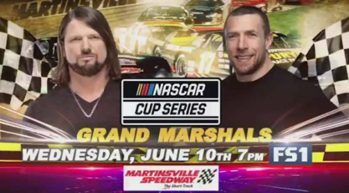 AJ Styles and Daniel Bryan to serve as Grand Marshalls for NASCAR Cup Series