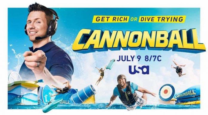 """""""CANNONBALL"""" with host The Miz premiering on the USA Network Thursday, July 9"""