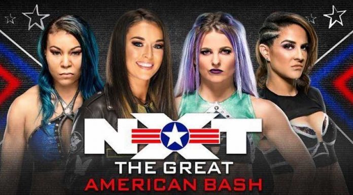 Change to Fatal-4 Way Match at NXT Great American Bash