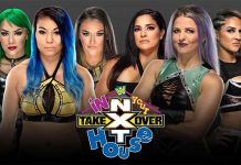 NXT TakeOver: In Your House card