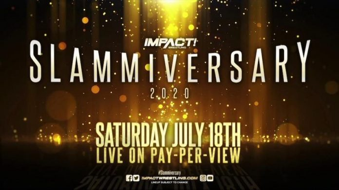 IMPACT announces new matches for Slammiversary PPV