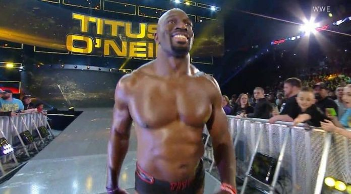 Titus O'Neil is a finalist for Muhammad Ali Sports Humanitarian Award