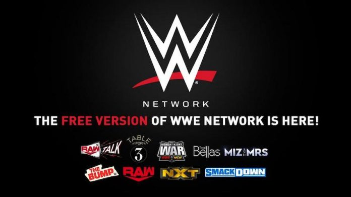 WWE launches new free version of the WWE Network
