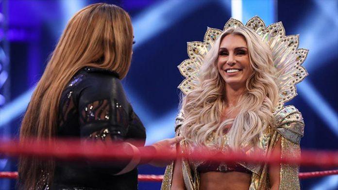 Charlotte Flair injured