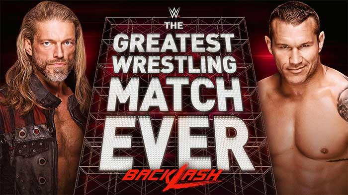 Edge vs. Orton already filmed