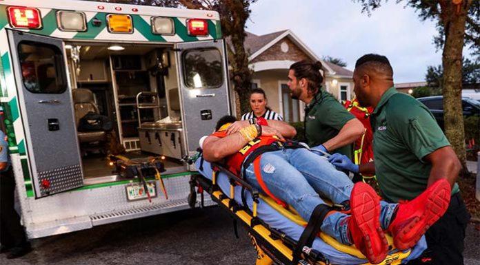 Elias suffers injury