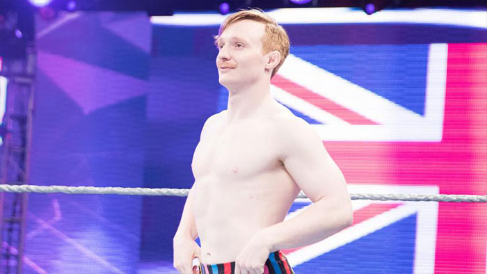Jack Gallagher released by WWE